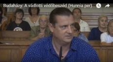 Budaházy György vádlotti védőbeszéde a Hunnia-perben